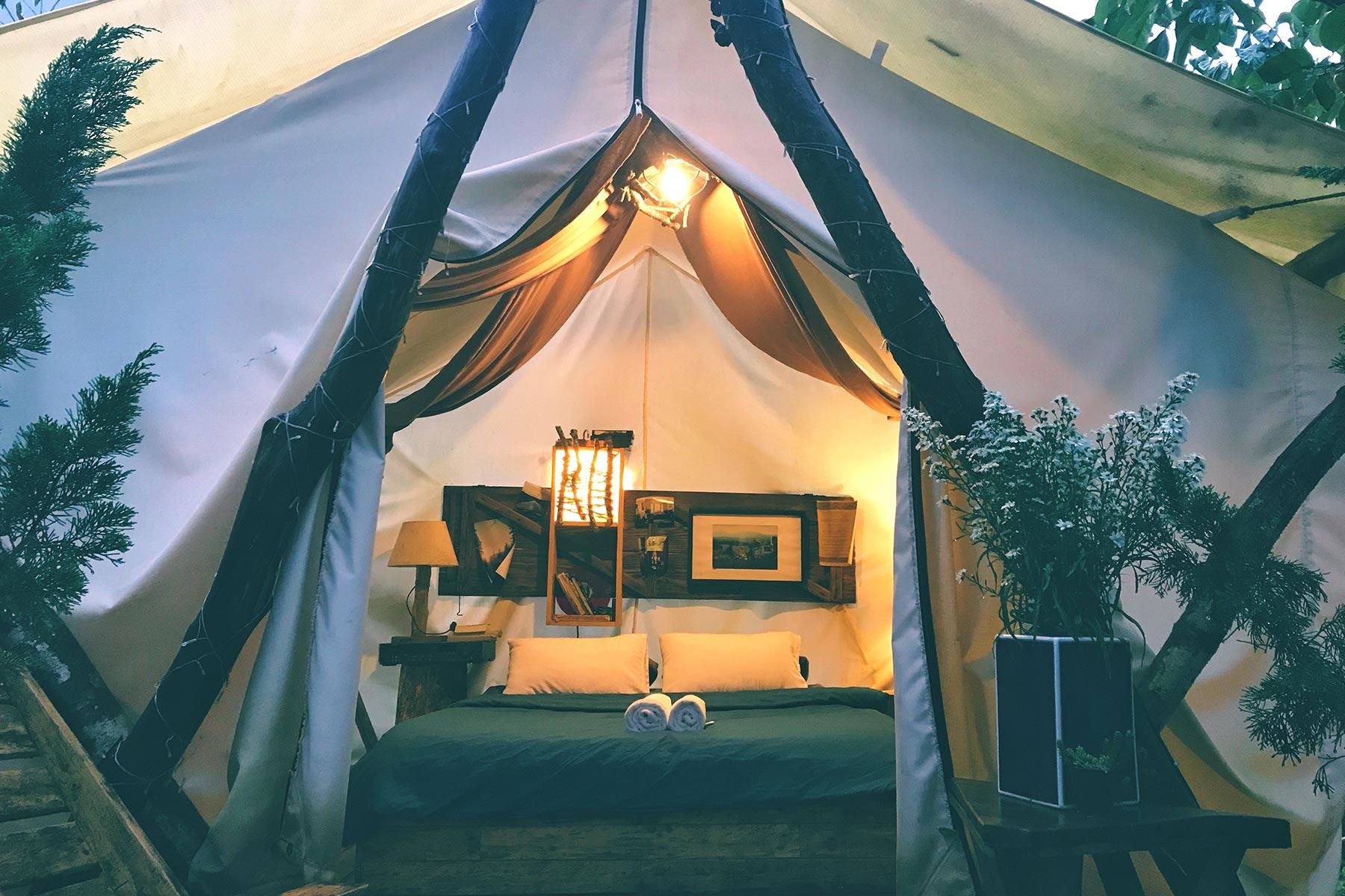 Glamping Camping Tents Tathra South Coast NSW
